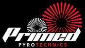Primed Pyrotechnics Logo